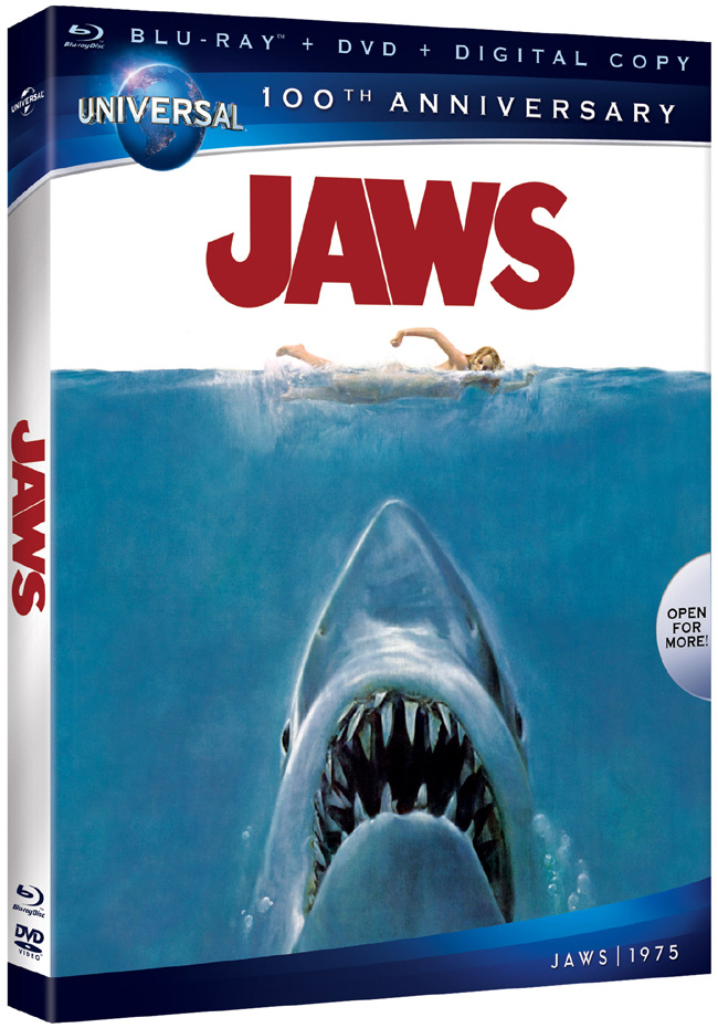 Jaws comes to Blu-ray and DVD on Aug. 14, 2012