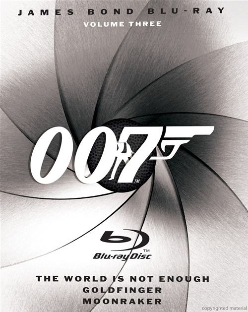 James Bond Blu-Ray: Volume Three was released on Blu-Ray on March 24th, 2009.