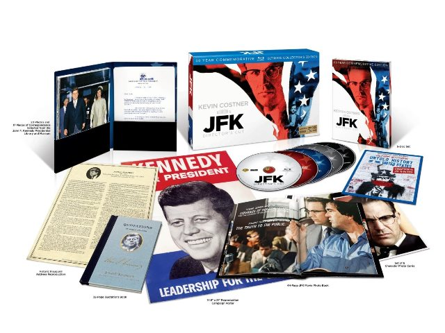 JFK was released on Blu-ray on November 12, 2013