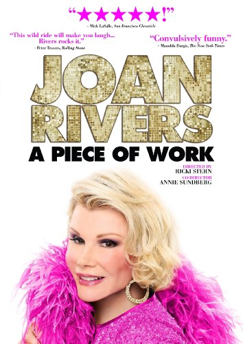 Joan Rivers: A Piece of Work was released on Blu-Ray and DVD on Dec. 14, 2010.