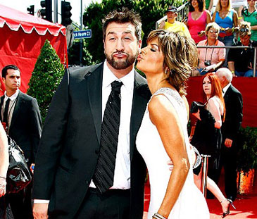 Red Carpet Memories: Joey Fatone and Lisa Rinna