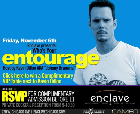 Kevin Dillon at Enclave Chicago.