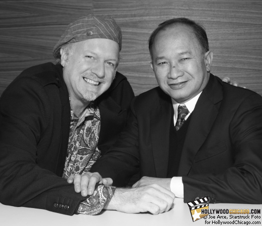 West Humbly Meets East: Patrick McDonald and John Woo in Chicago, October 9, 2009.