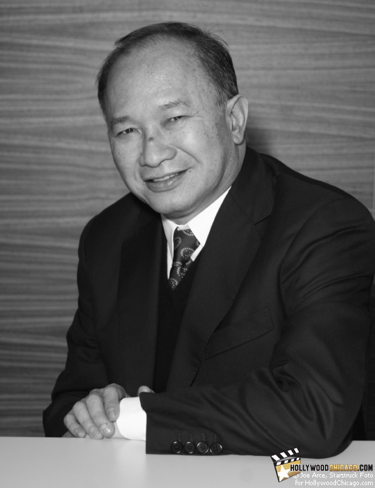 Portrait of an Icon: John Woo at the Chicago International Film Festival, October 9, 2009.