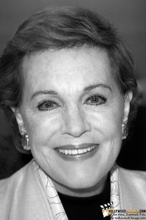 Julie Andrews in Chicago on Oct. 14, 2009 for her book signing
