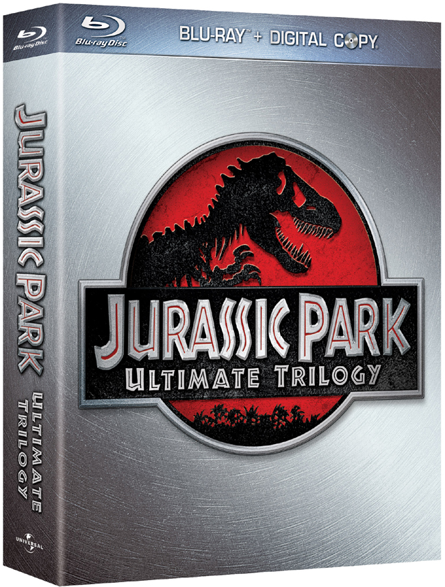 Jurassic Park Trilogy will be released on Blu-ray on Oct. 25, 2011 from Universal Home Entertainment