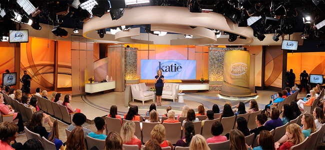 Katie Couric's new ABC TV show Katie debuts on ABC on Sept. 10, 2012