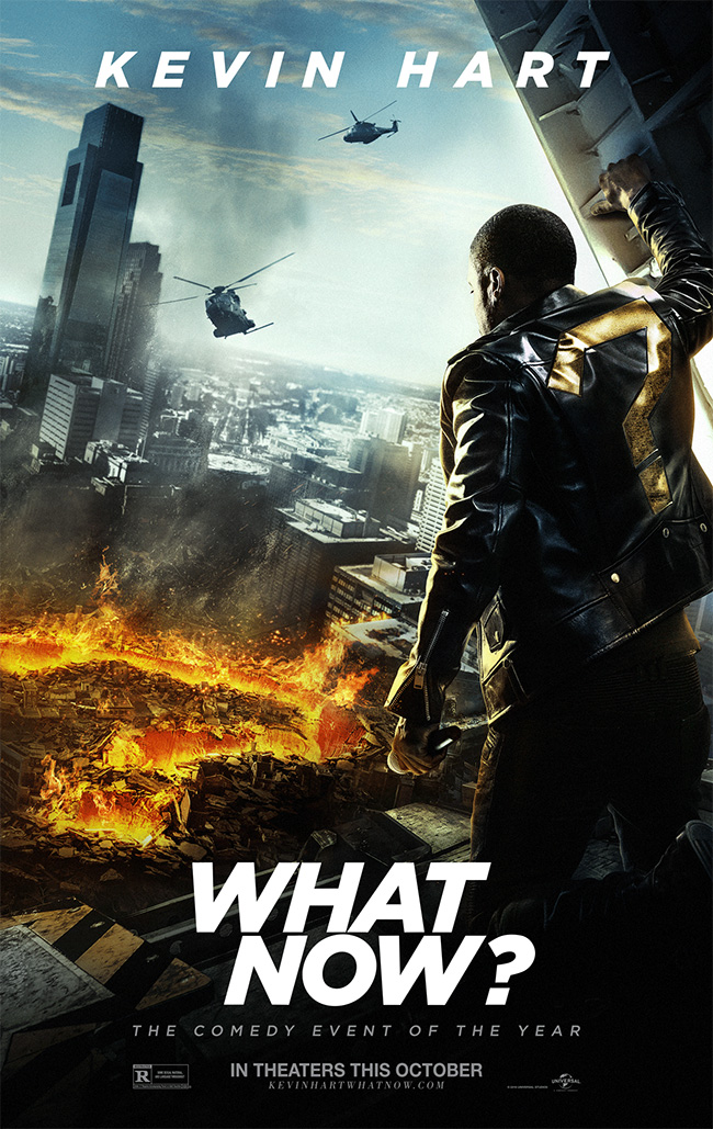 The movie poster for Kevin Hart: What Now?