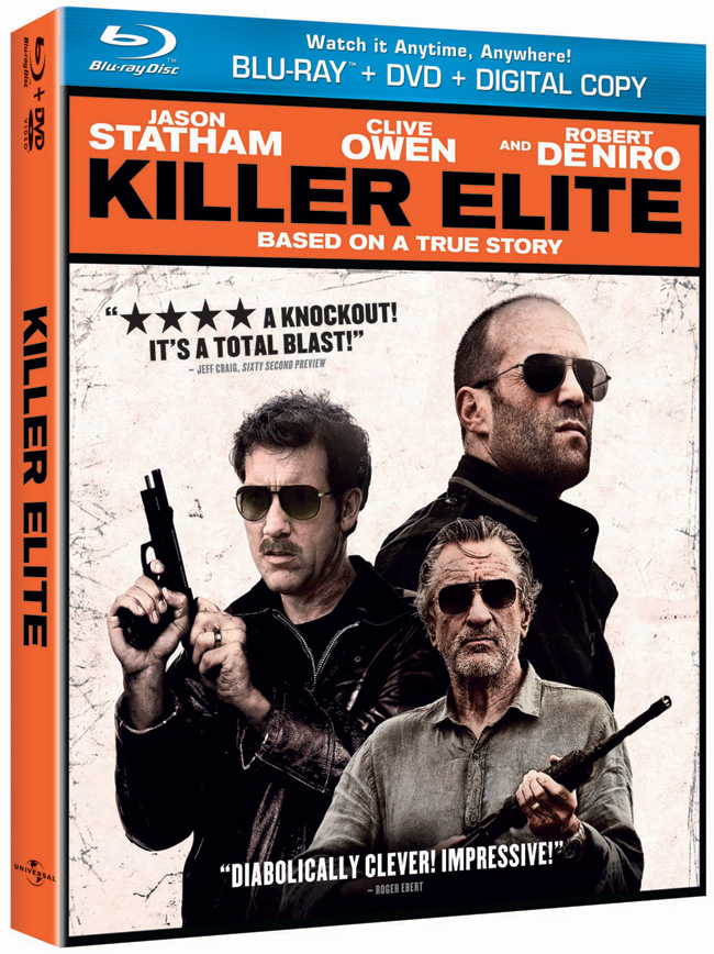 Killer Elite with Jason Statham and Robert De Niro comes to Blu-ray, DVD and digital download on Jan. 10, 2012