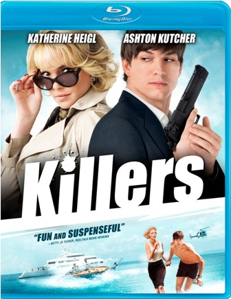 Killers was released on Blu-ray and DVD on Septemebr 7th, 2010