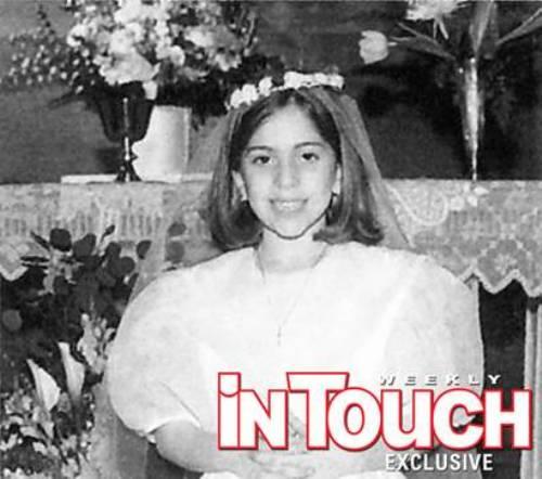 Lady Gaga childhood picture as Stefani Germanotta