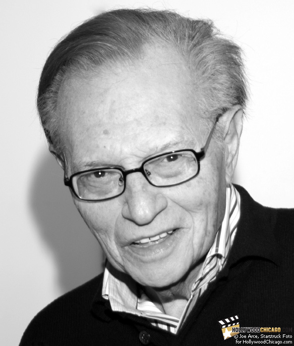 Exclusive portrait of Larry King in Chicago on May 30, 2009