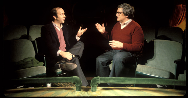 Gene Siskel and Roger Ebert in Life Itself