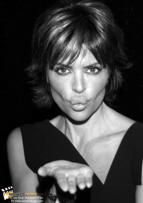 Actress, Dancer, Playboy Covergirl and Author – of 'Rinnavation: Getting Your Best Life Ever' – Lisa Rinna gets ready to Kiss and Tell at her book signing at the Borders in Oakbrook, Illinois, on July 28th, 2009.