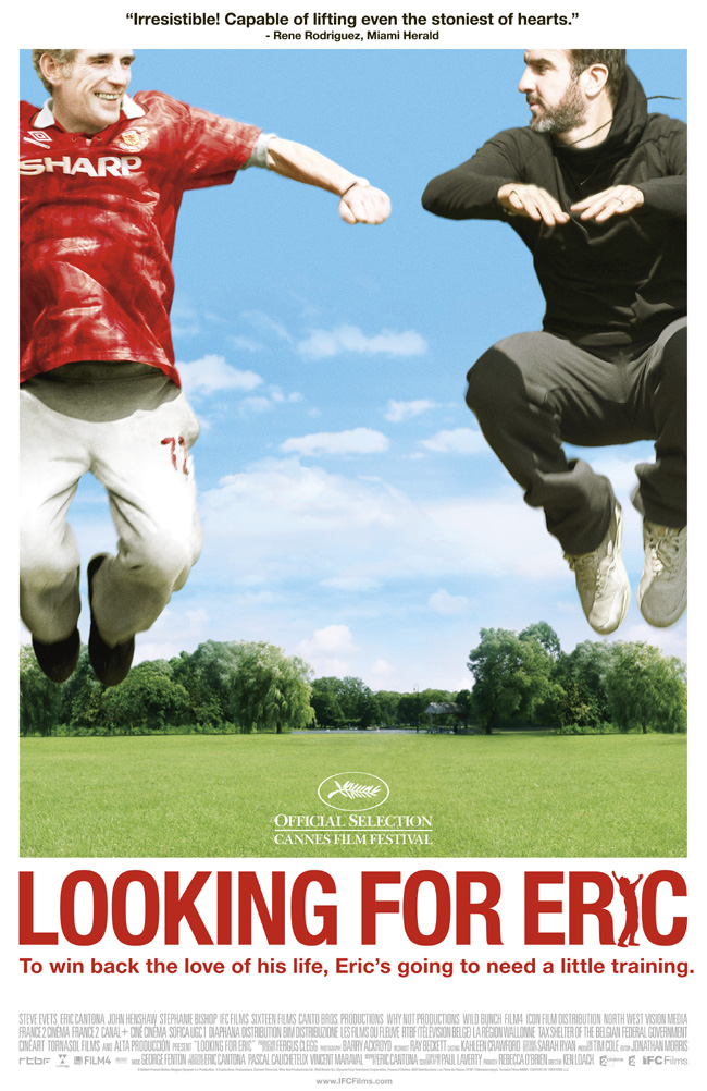The movie poster for Looking for Eric