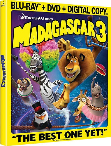 Madagascar 3: Europe's Most Wanted was released on Blu-ray and DVD on October 16, 2012