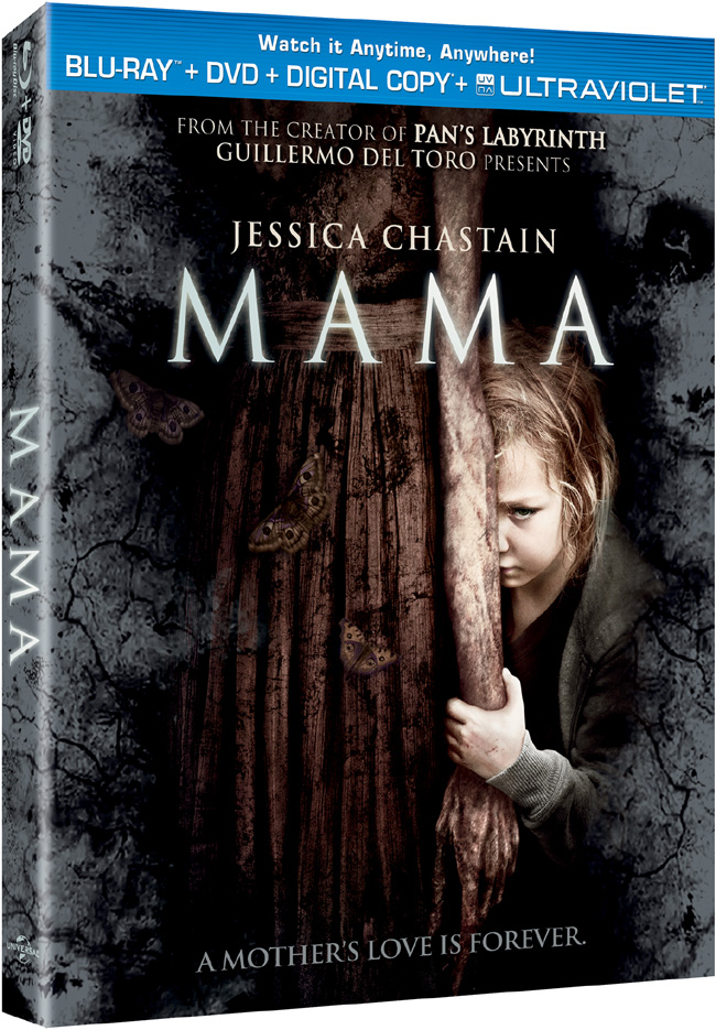 Mama comes to to Blu-ray and DVD combo pack on May 7, 2013