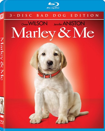 Marley and Me was released on Blu-Ray on March 31st, 2009.