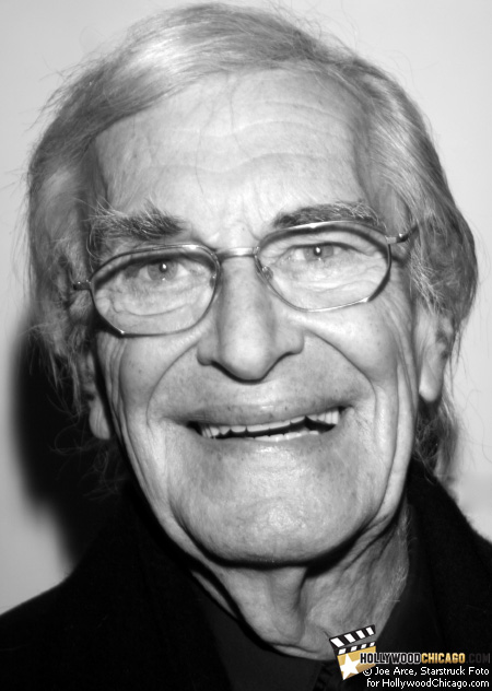 Martin Landau at the Chicago International Film Festival Awards Ceremony in the Pump Room at the Ambassador East Hotel, October 17, 2009.