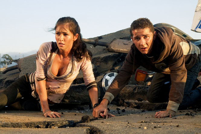 The Human Element: Megan Fox and Shia LaBeouf in 'Transformers: Revenge of the Fallen'