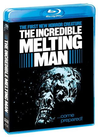 The Incredible Melting Man was released on Blu-ray on July 30, 2013