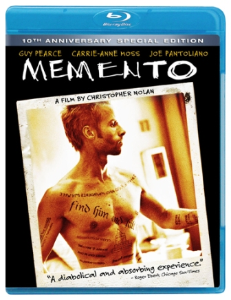 Memento: 10th Anniversary Special Edition was released on Blu-Ray on February 22nd, 2011