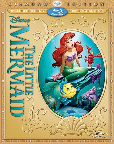 The Little Mermaid was released on Blu-ray and DVD on October 1, 2013