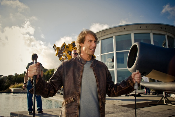 Transformers, Transformers: Revenge of the Fallen and Transformers 3 director Michael Bay