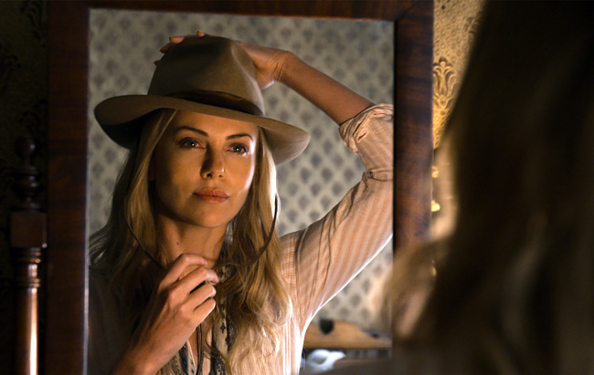 Charlize Theron as Anna in A Million Ways to Die in the West