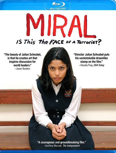 Miral was released on Blu-ray and DVD on July 12th, 2011