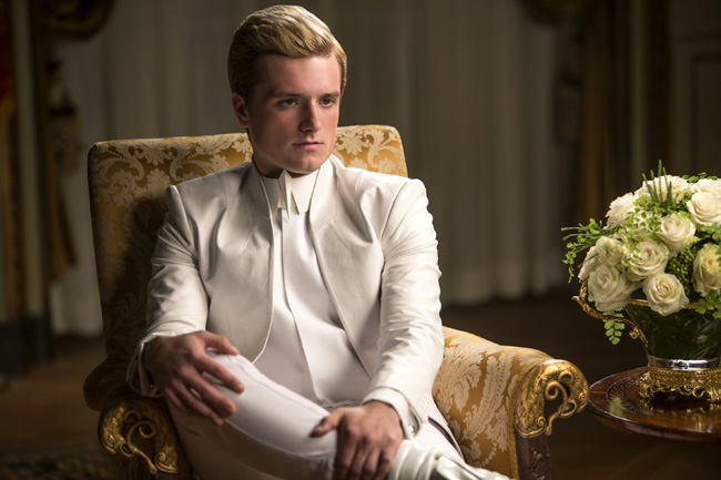 Josh Hutcherson in The Hunger Games: Mockingjay - Part 1