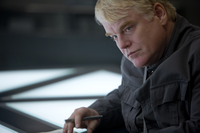 Phillip Seymour Hoffman in The Hunger Games: Mockingjay - Part 1