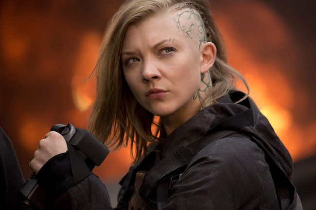 Natalie Dormer in The Hunger Games: Mockingjay - Part 1