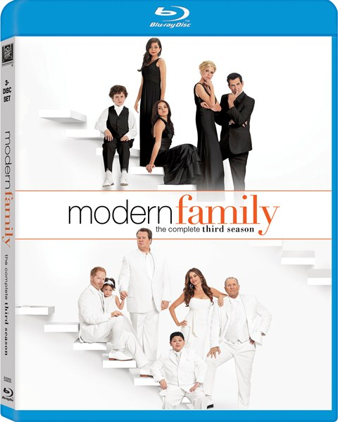 Modern Family: The Complete Third Season was released on Blu-ray and DVD on September 18, 2012