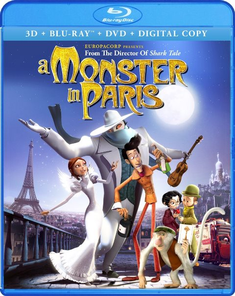 A Monster in Paris was released on Blu-ray and DVD on April 16, 2013