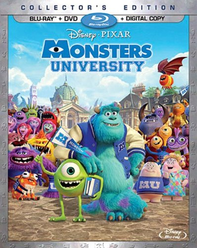 Monsters University was released on Blu-ray on October 29, 2013