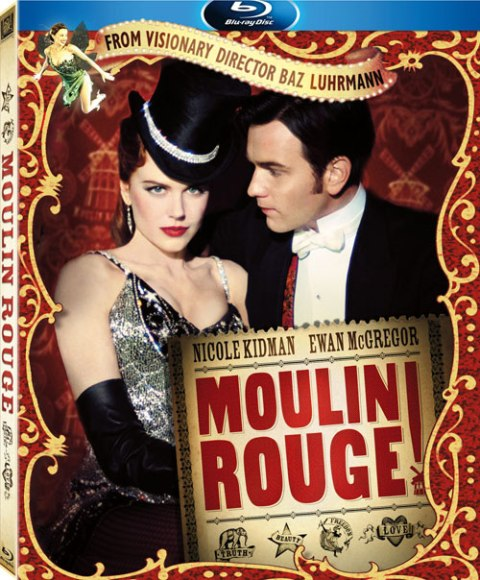 Moulin Rouge! was released on Blu-ray on October 19th, 2010