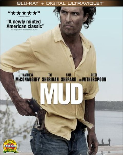 Mud was released on Blu-ray and DVD on August 6, 2013