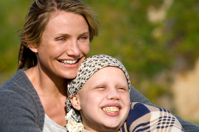 Cameron Diaz and Sofia Vassilieva in My Sister's Keeper