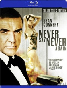 Never Say Never Again was released on Blu-Ray on March 24th, 2009.