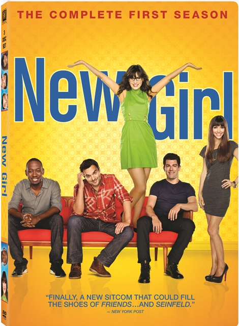New Girl: The Complete First Season was released on DVD on October 2, 2012