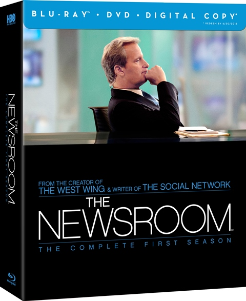 The Newsroom: The Complete First Season was released on Blu-ray and DVD on June 11, 2013
