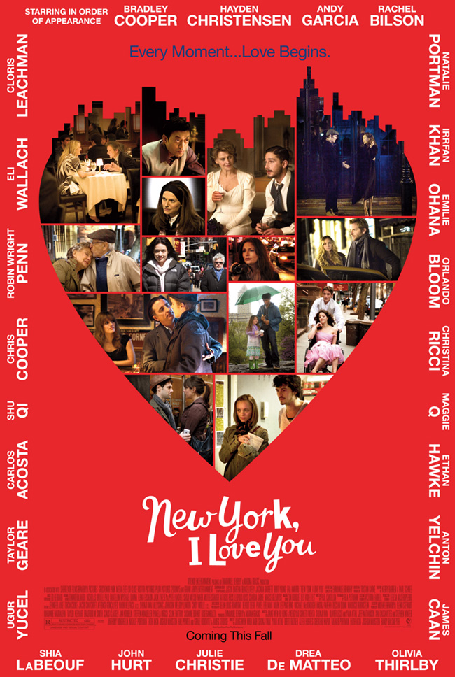 The New York, I Love You movie poster