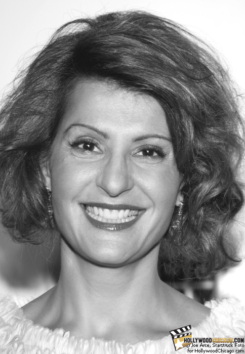 Nia Vardalos at the Gabby Awards, Chicago, June 19, 2009.