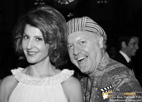 Nia Vardalos and Patrick McDonald, Chicago, June 19, 2009.