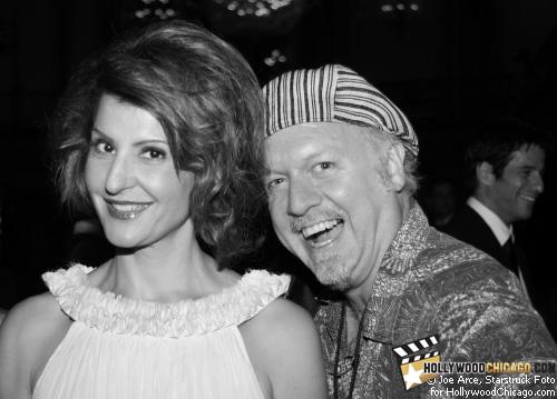 Nia Vardalos and Patrick McDonald, Chicago, June 19, 2009.