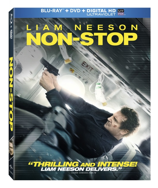 Non-Stop was released on Blu-ray in June 10, 2014