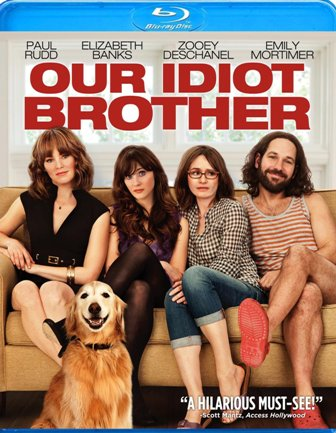 Our Idiot Brother was released on Blu-ray and DVD on November 29th, 2011