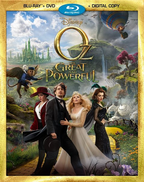 Oz the Great and Powerful was released on Blu-ray and DVD on June 11, 2013