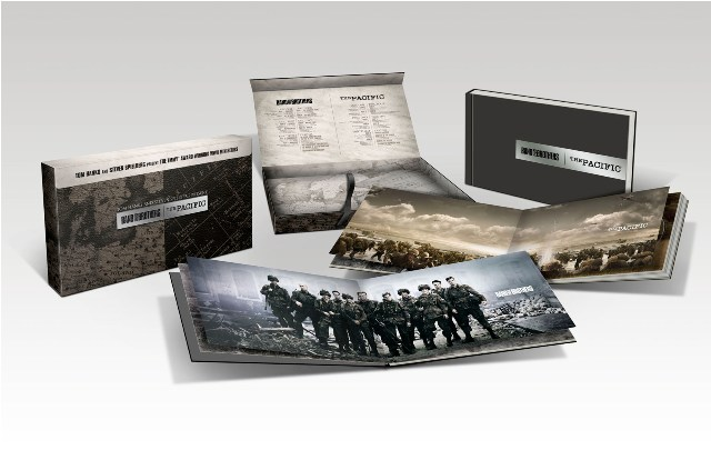 Band of Brothers The Pacific Special Edition Gift Set was released on Blu-ray and DVD by HBO on November 8th, 2011.